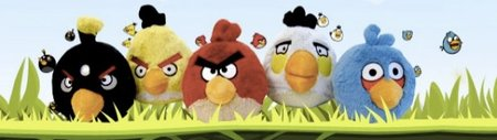 Angry Birds plush toys on sale, selling out fast