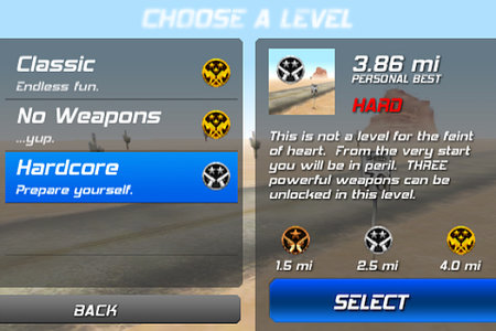 App of the Day - Zombie Highway (iPhone) - photo 2