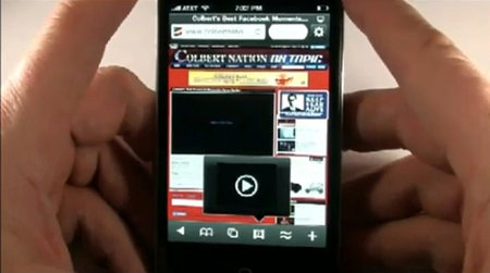 Flash comes to iPhone thanks to Skyfire app