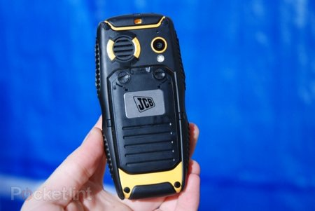 JCB phones that float