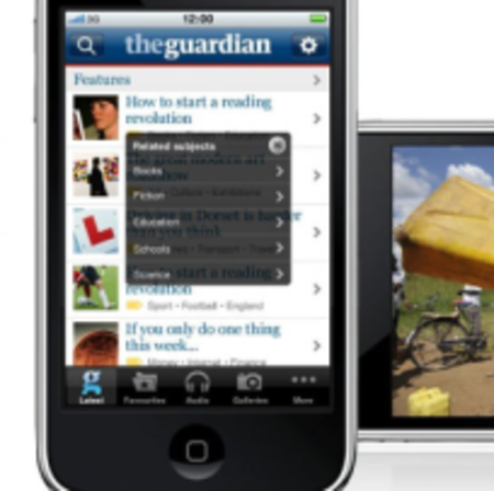 The Guardian iPhone app to charge for content