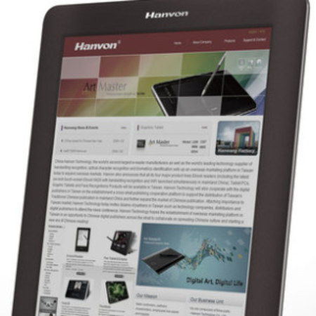 Colour E Ink arrives via the Hanvon ereader
