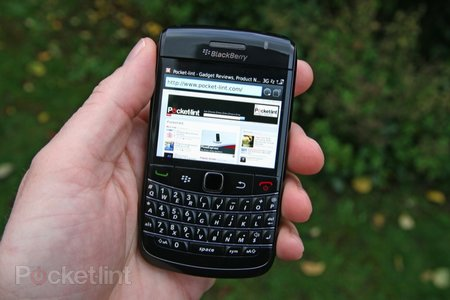 BlackBerry Bold 9780 hands-on