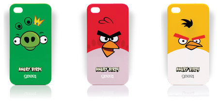 Angry Birds iPhone 4 cases coming from Gear4