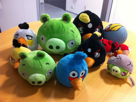 Pigs join Angry Birds plush toy range - Yay!