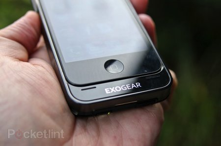 Exolife iPhone 4 exoskeleton extends battery life