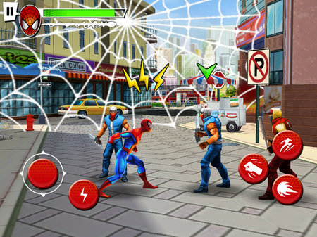 APP OF THE DAY - Spider-Man: Total Mayhem HD (iPad)