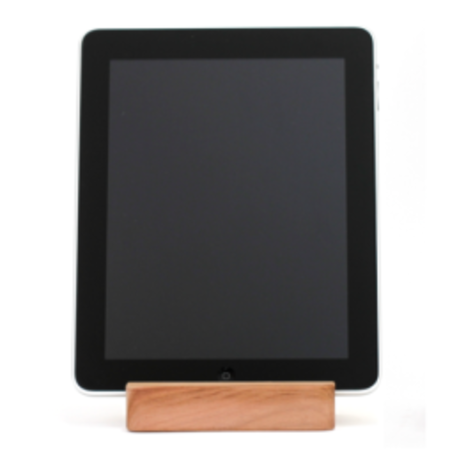 Touch wood with the iPad BlockDock