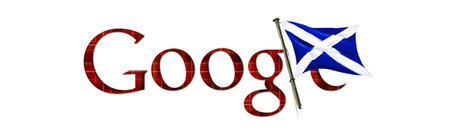 Google Doodle gets its kilt on for St Andrew's Day