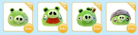 Pigs added to Angry Birds soft toy range
