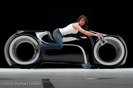 Real life Tron Light Cycle: Yours for just $55,000
