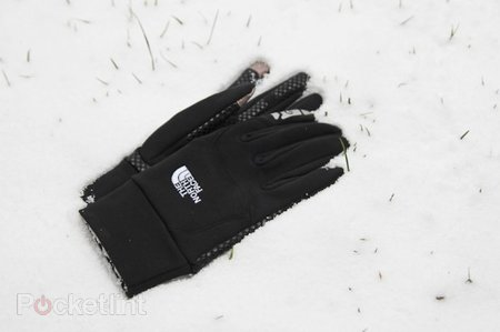 North Face Etip gloves hands-on