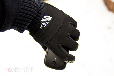 North Face Etip gloves hands-on - photo 4