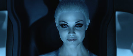 Tron: Legacy - photos, ladies and lightcycles - photo 5