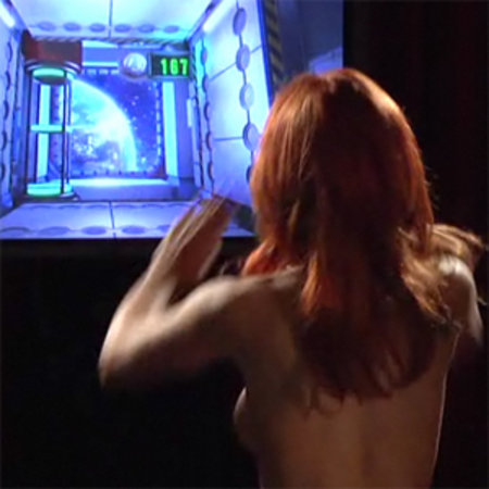 VIDEO: Porn star Kirsten Price tests Kinect in the nude