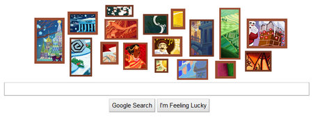 Christmas Google Doodle is 17 works of art