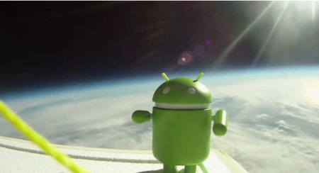 Google Nexus S survives trip to space