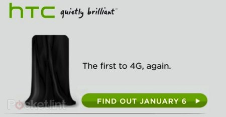 New HTC 4G confirmed for 6 Jan CES launch