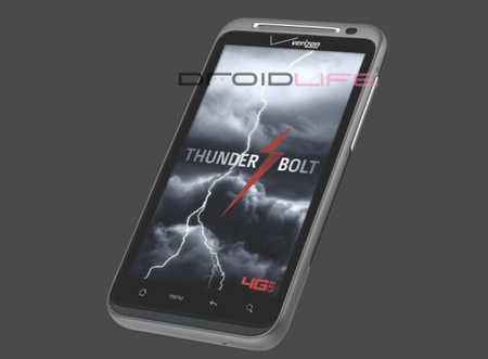 HTC Thunderbolt adds 4G for Verizon