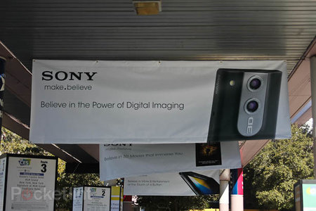 Sony Bloggie 3D leaked in poster campaign at CES