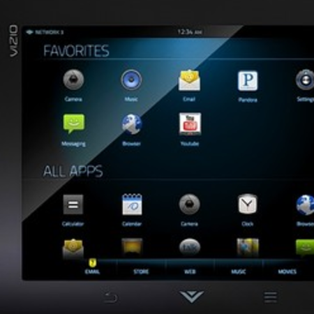 Vizio enters mobile market Via Android