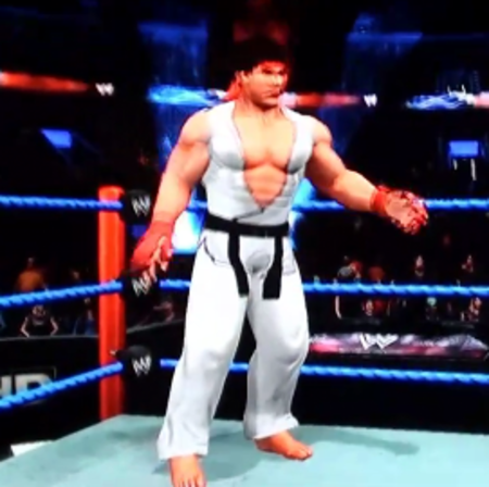VIDEO: WWE Smackdown vs. Raw vs. Street Fighter