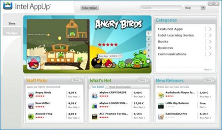 Angry Birds comes to PC thanks to Intel AppUp store