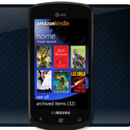 Kindle App goes live on Windows Phone 7
