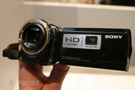 Sony HDR-PJ30VE hands on