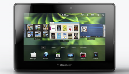 BlackBerry 4G PlayBook coming in summer 2011