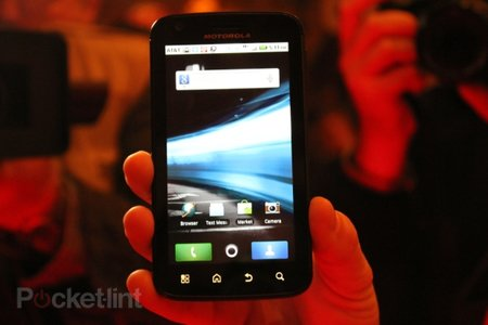 Motorola Atrix 4G hands-on