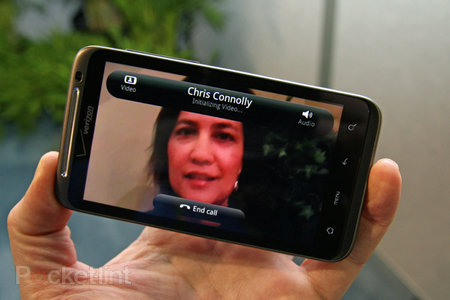 HTC Sense sees integrated Android Skype video chat