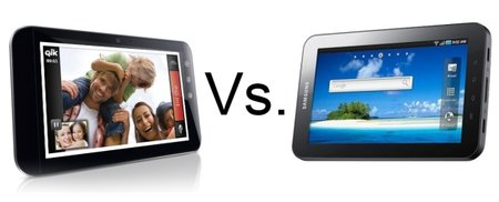 Dell Streak 7 vs Samsung Galaxy Tab 4G