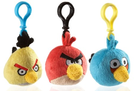 Angry Birds plush toys fly into the UK via Firebox