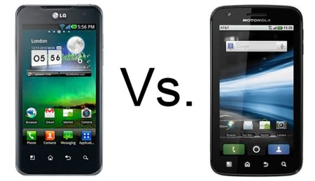 LG Optimus 2X vs Motorola Atrix
