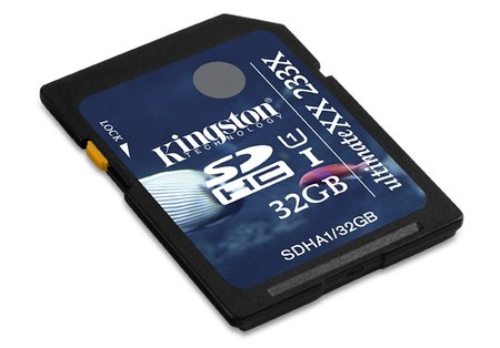 Kingston speeds in with the fastest SDHC cards available