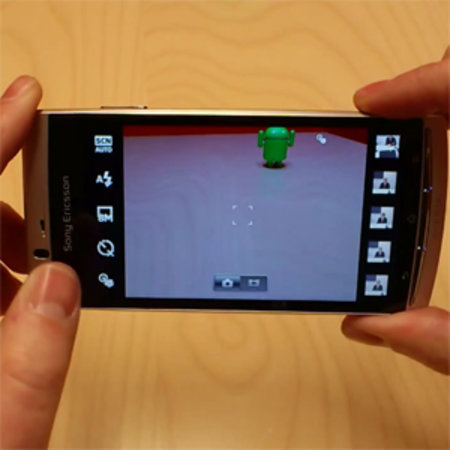 VIDEO: Sony Ericsson explains camera improvements to Xperia Arc