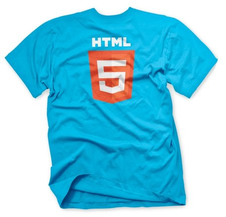 HTML5 gets new logo, and a t-shirt to go with it