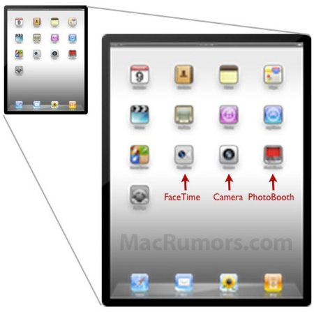 More clues point to Apple iPad 2 camera