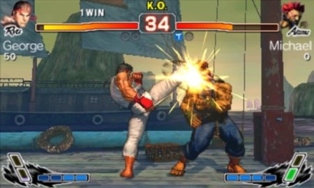 Super Street Fighter IV 3D - 3DS quick play preview