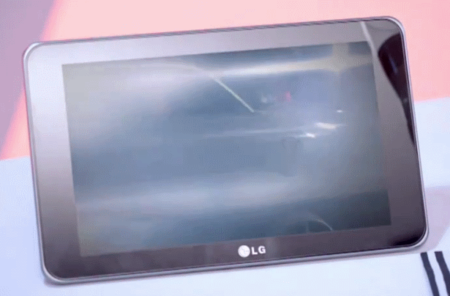 LG G-Slate makes pop-video appearance