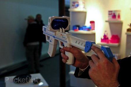 AppBlaster: New toy turns iPhone into an AR gun