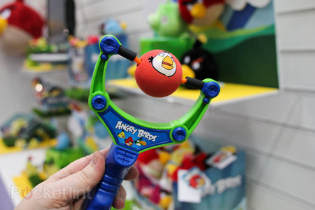 Angry Birds invade Toy Fair, including official catapult