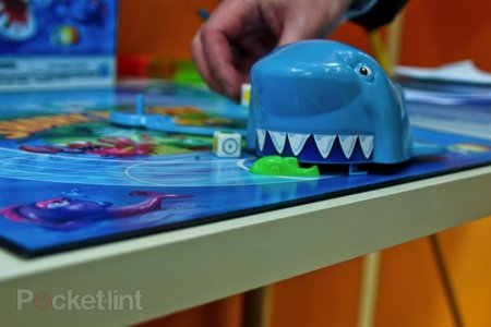 Shark Attack: Hungry Hippos goes bad