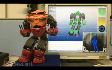 VIDEO: Control the Humanoid Robot by Kinect