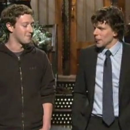 VIDEO: When Zuckerbergs collide