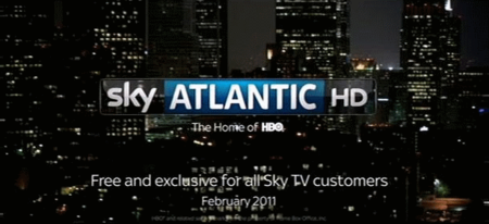 Sky Atlantic HD broadcasting imminent