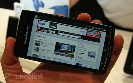 Sony Ericsson Xperia Arc to set sail in April