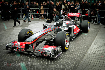 Vodafone McLaren Mercedes MP4-26 2011 F1 car eyes-on