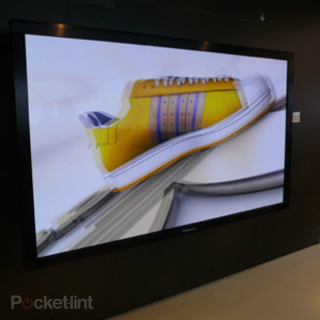Panasonic's TH-103VX200W 103-inch 3D plasma hands-on